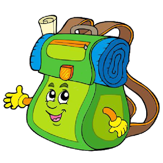 School Bag Cartoon Image 11